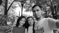 At Piedmont Park with ate Lao and kuya Gerard